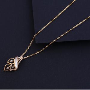 750 rose gold hallmark designer womens  tanma