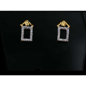 22 k gold fancy earring. nj-e01158