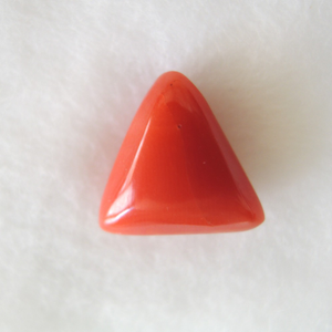 6.30ct triangle natural red-coral (