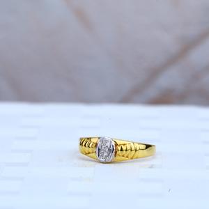 Kids gold ring-kr53