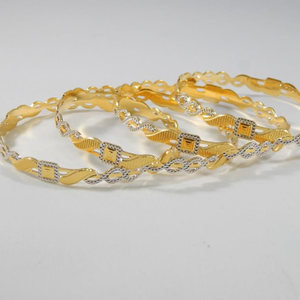 22kt yellow gold marion bangles for women