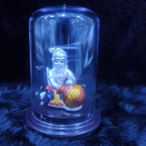 92.5 sterling silver bal gopal idol