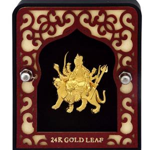 999 gold amba mataji frame