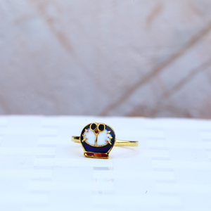 Kids gold ring-kr19