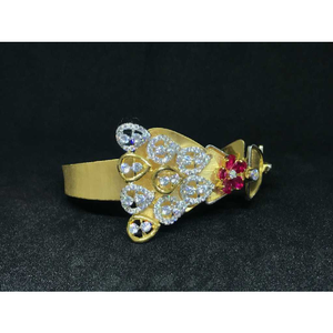 18k ladies fancy gold bracelet k-51022