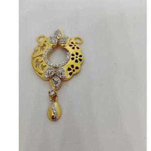 22k ladies fancy gold mangalsutra pendant m-3