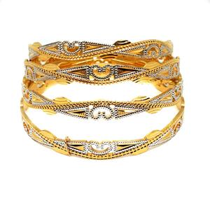 1 gm gold forming bangles mga - gf003