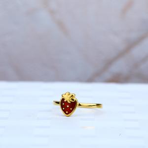 New baby gold ring-kr33