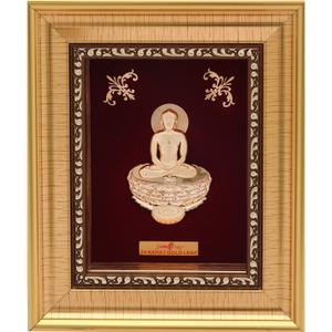 999 gold mahavirji frame