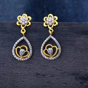 916 gold designer jhummar earrings lje132