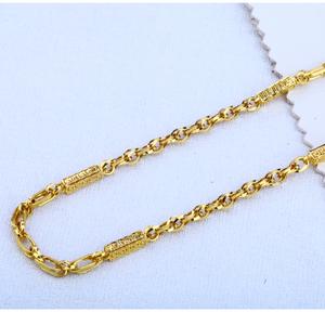 916 gold fancy mens  choco chain mch111
