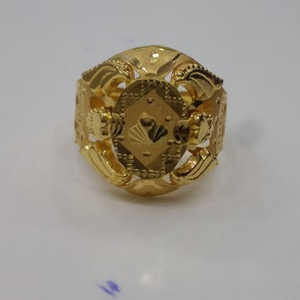 22kt 916 gold najrana ring