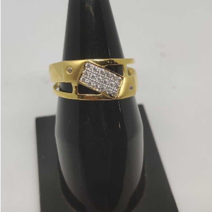 22k gents fancy gold ring gr-28630