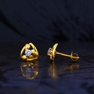 22kt gold designer earring for women lse99