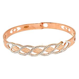 1 gram gold forming rose plated bracelet mga