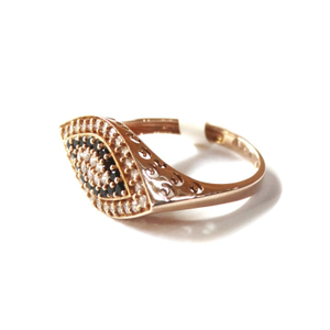 1818k rose gold fancy ring mga - rgr0015