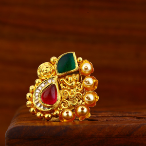 916 gold antique ring lar82