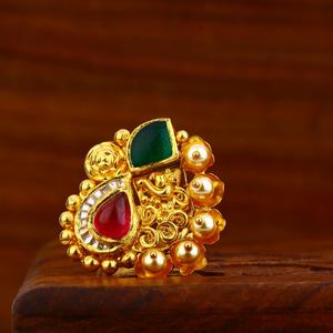 916 gold antique ring lar82