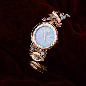Rose gold watch-rlw05