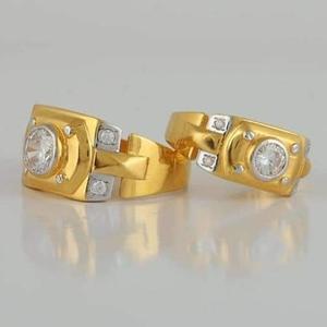 22 carat gold love life couple fancy ring rh-