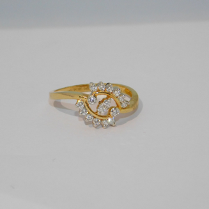 18k gold diamond ring agj-lr-125