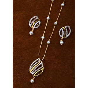22 k gold fancy pendant set. nj-p0605