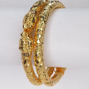 916 gold hallmark classic bangle