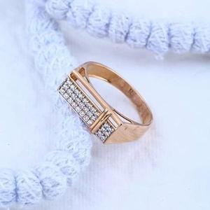 18kt rose gold premium gents ring rh-gr60
