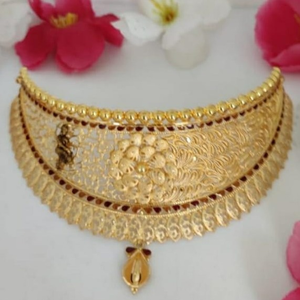 22 ct gold choker set