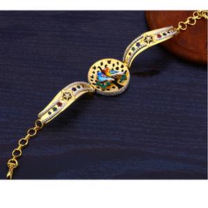 Ladies kada bracelet cz 916