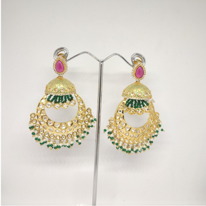Attractive artificial jummar latkan earring
