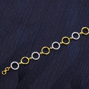 Ladies delicate gold bracelet-lb92