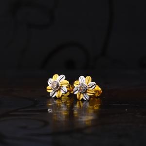 916 flower shape earring lse130