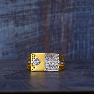 916 22kt gold designer ring mr472