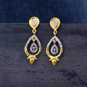 916 gold jhummar earrings lje147