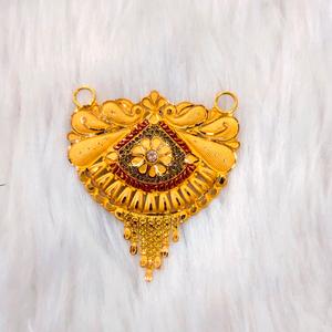 916 22 carat fancy mangalsutra pendant