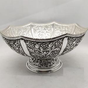 925 pure silver designer fruit & flower b