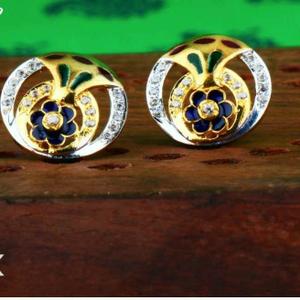 22kt gold ladies fancy earring