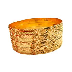 22k gold fancy bangles mga - gb0001