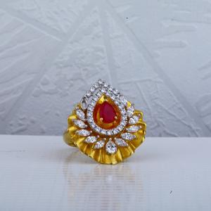 18ct hallmark italian gold ring lir50
