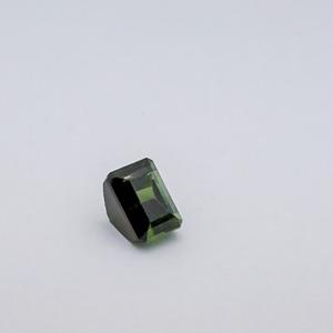 6.275ct square green tourmaline
