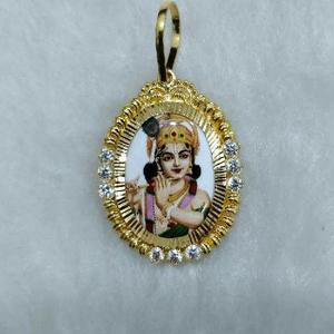 916 gold vasali valo kanudo pendant