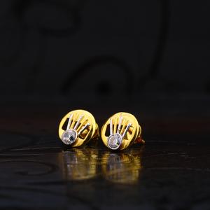 916 round shape fancy earrings lse170