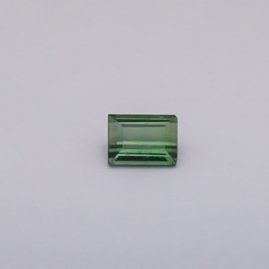 4.255ct square green tourmaline