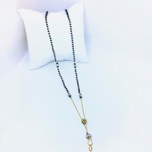 Gold designed fancy mangalsutra