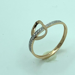 18 ct rose gold ring uniqe design
