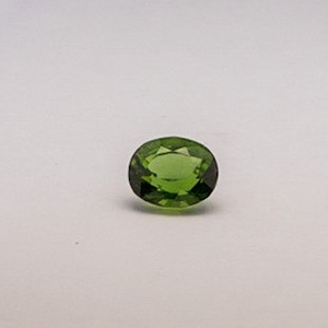 4.91ct oval green tourmaline