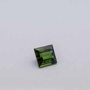 3.155ct square green tourmaline