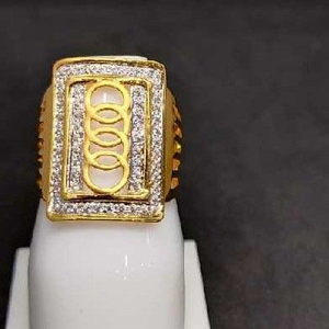 916 men's fancy gold ring