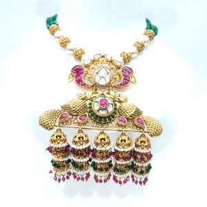 Special for bride with antique design peacock